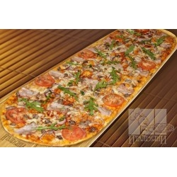 Party пицца с телятиной и беконом