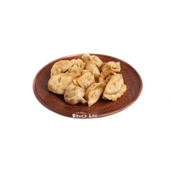 Традиционные китайские пельмени ручной работы с курицей и креветками ЖАРЕНЫЕ