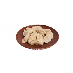 Традиционные китайские пельмени ручной работы с курицей и креветками ВАРЕНЫЕ