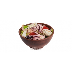 Теплый салат с морепродуктами: заказать, доставка