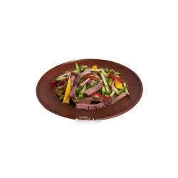 Острый салат с телятиной