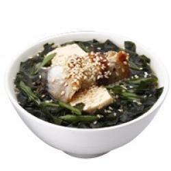 Мисо-суп с угрём
