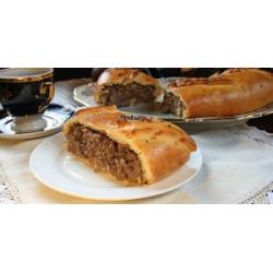 Классическая старославянская мясная кулебяка: заказать, доставка