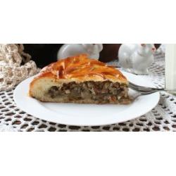 Пирог с гречкой и грибами Накрепок: заказать, доставка