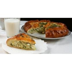 Пирог с зеленым луком и яйцом: заказать, доставка