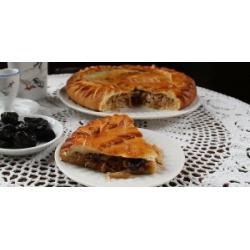 Закрытый старославянский пирог с капустой и черносливом: заказать, доставка