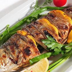 Шашлык из рыбы сибас - 300 грамм