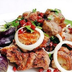 Шампур шашлыка из телятины мякоть - 250 грамм