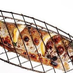 Шашлык из рыбы форель речная - 300 грамм