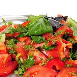 Овощная нарезка - 250 грамм