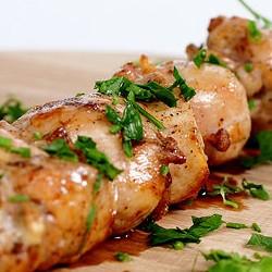 Шампур шашлыка из курицы  грудинка - 250 грамм
