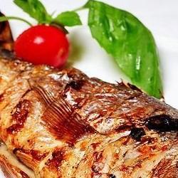 Шашлык из рыбы дорадо - 300 грамм