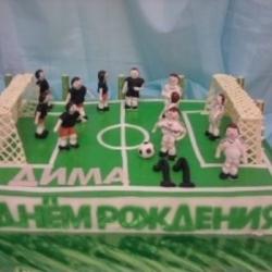 Торт  Футбольное поле2