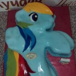 Торт Пони Радуга
