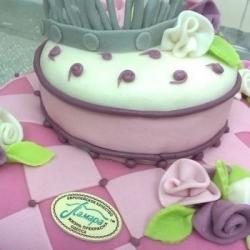 Торт Корона для принцесы