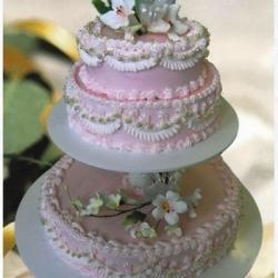 Торт Садебный кремовый