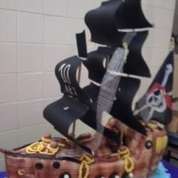 Торт Черный пират
