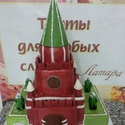 Торт кремль