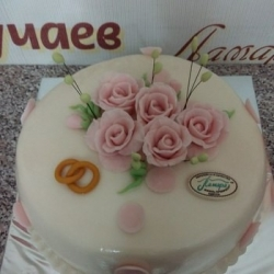 Торт Свадебные кольца