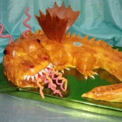 Торт Дракон