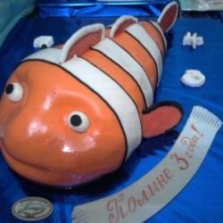 Торт Рыбка Немо 2