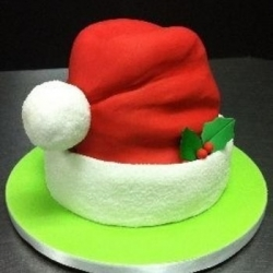 Торт Новогодний колпак