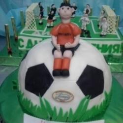 Торт Футбольный мяч2