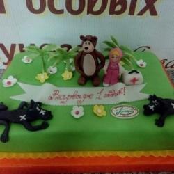 Торт Маша и волки