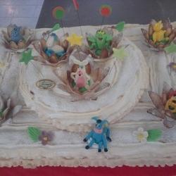 Торт :Весёлая компания