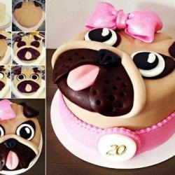 Тортик для Мопсика!: заказать, доставка