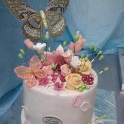 Торт  Полёт бабочки