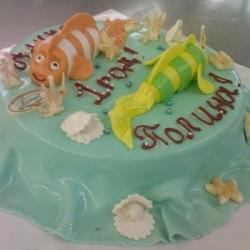 Торт Рыбки