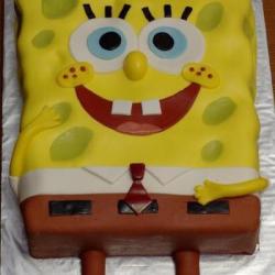 Торт Спанчбоб