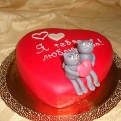 Торт Валентинка : заказать, доставка