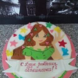 Торт Фея Флора 2