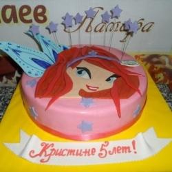 Торт Винкс Блу