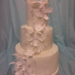Торт свадебный 74