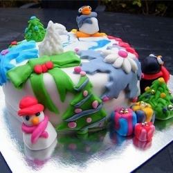 Торт Новогодний калаш: заказать, доставка