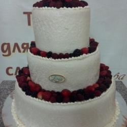 Торт Ягодная свадьба