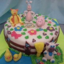 Торт Весёлый двор-2