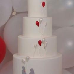 Вариант  Свадебного торта№77