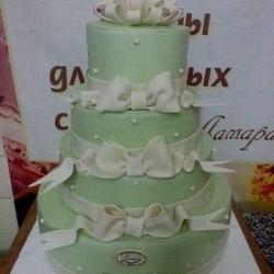 Торт  Свадебный бант