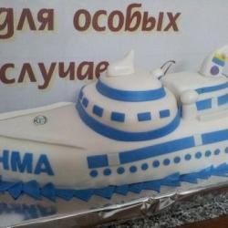 Торт Корабль 2012г