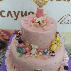 Торт Игрушки