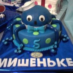 Торт Осьминог 2