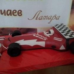Торт Гоночая машина№