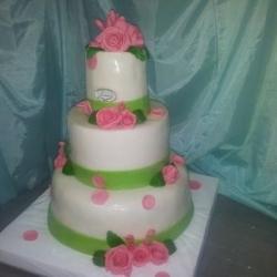Торт Свадебная роза