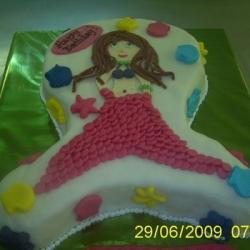 Торт Русалка