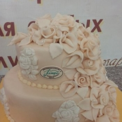 Торт Свадьба для двоих