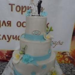 Торт Голубая мечта